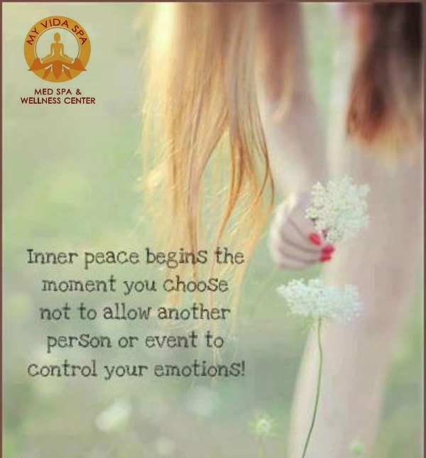 inner peace--control your own emotions